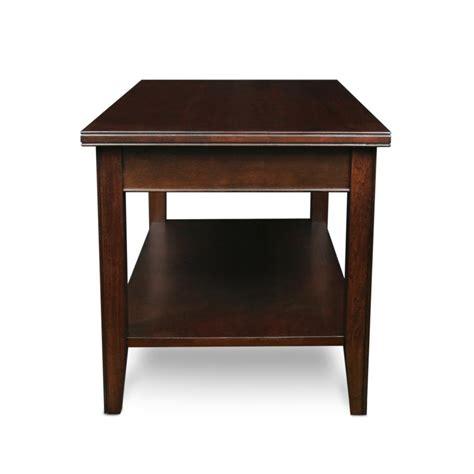Amazon.com   Leick Laurent Condo/Apartment Coffee Table   Cherry Wood Coffee Table