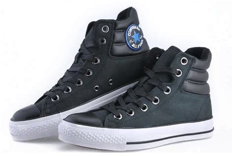 Converse Chuck All Speciality Hi Black Si black converse chuck all ct as specialty padded collar high top leather sneakers