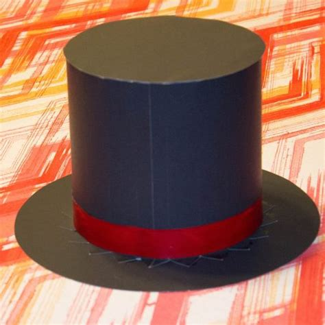 A Hat Out Of Paper - hats top hats and paper on