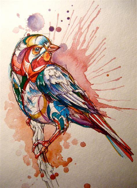 birds by abby diamond colossal