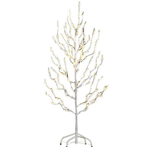 proht 3 ft 3 watt white branch tree with 112 led