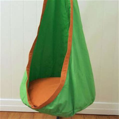 sensory swing with stand green and orange waterproof sensory swing with stand
