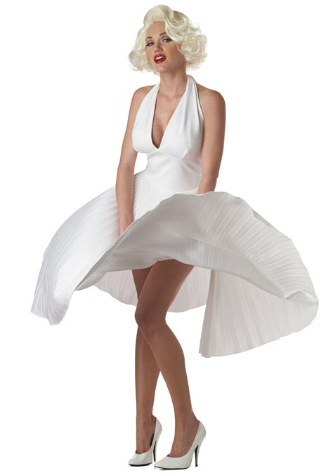 dress marilyn marilyn deluxe white halter dress