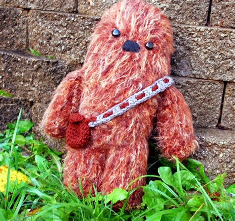 Jo In Pets Needle Brush chewbacca what a wookie crochet pattern inner child crochet