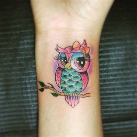 cartoon owl tattoo 51 owl tattoos ideas best designs with meaning