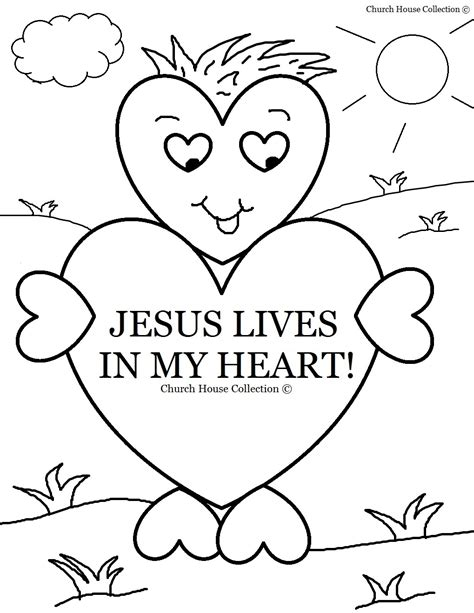 color my hearts coloring book one books church house collection jesus lives in my