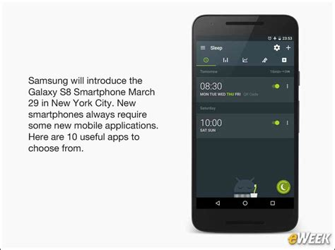 samsung apps to mobile 10 mobile apps to to the new samsung galaxy s8