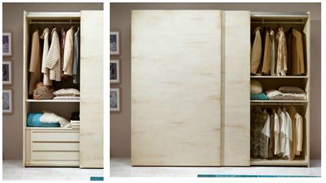 armadi a 2 ante scorrevoli armadio a 2 ante scorrevoli in legno pattinato avorio