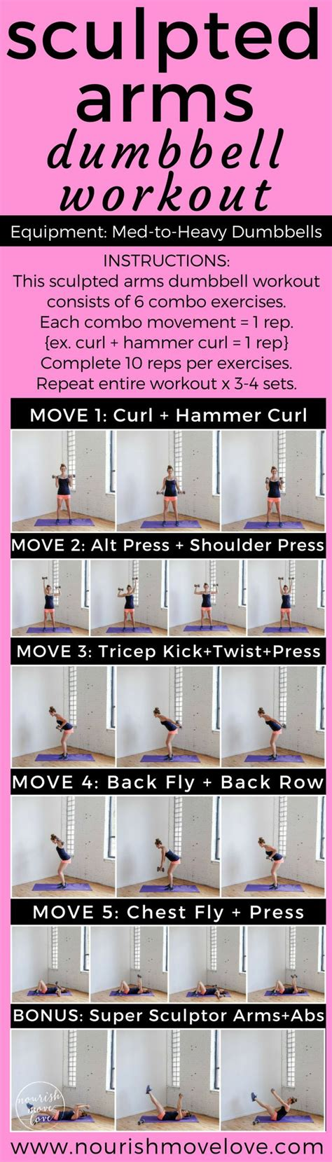 best dumbbell workout routine best 10 dumbbell workout ideas on dumbbell