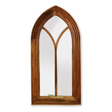 tns furniture jali arch mirror