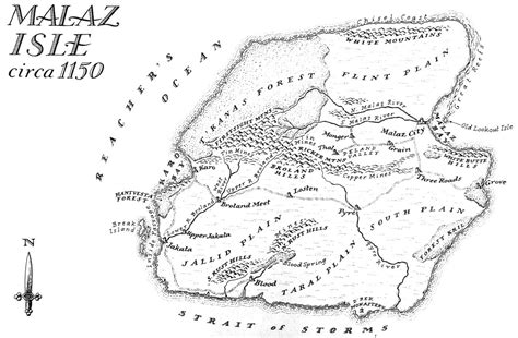 Karet Mallet King Image Map Malaz Isle Jpg Malazan Wiki Fandom Powered