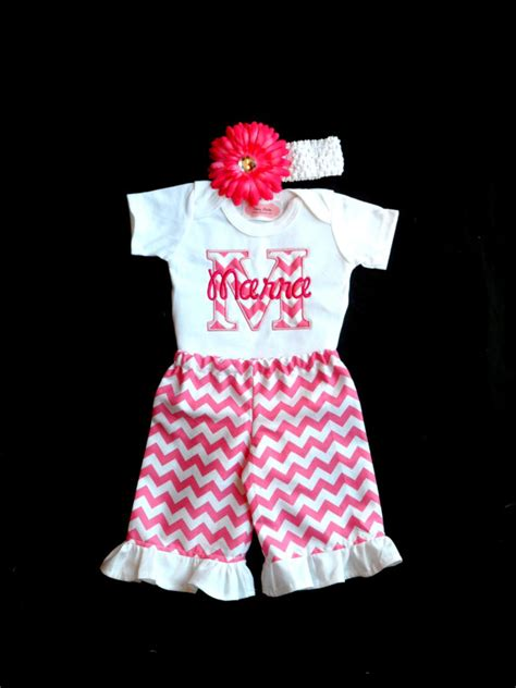 items similar to personalized baby girl clothes newborn
