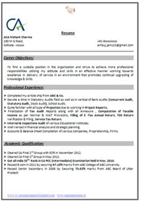 Resume Format For Banking And Insurance Freshers Professional Curriculum Vitae Resume Template For All Seekers Sle Template Exle Of