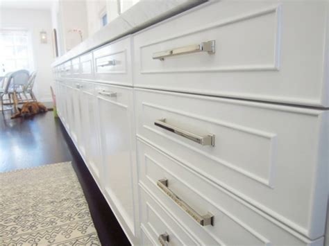 white kitchen cabinet handles handles for kitchen cabinets almost invisible but