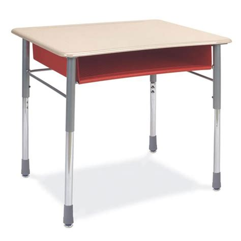 Student Desks by Virco 280opnm Iq Series Student Desk W Solid Plastic Top