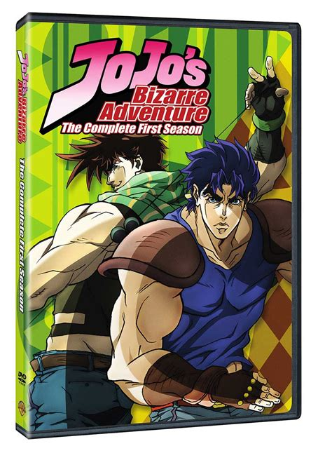 jojos bizarre adventure 05 warner bros announces upcoming release of jojo s bizarre adventure the complete first season