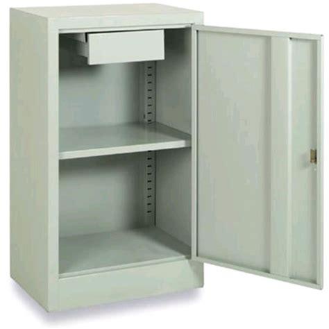 armadi in metallo armadio basso in metallo n 1 anta con cassetto mod