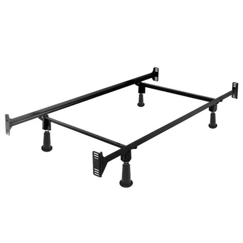 Instamatic Bed Frame Instamatic High Rise Metal Bed Frame W Headboard Footboard Brackets Fastfurnishings