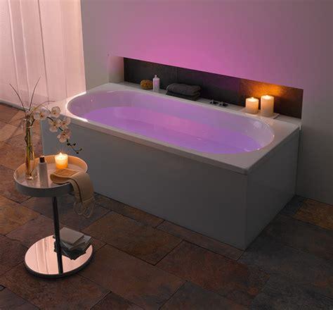 badewannen beleuchtung kaldewei bathroom with led mood lighting indirect
