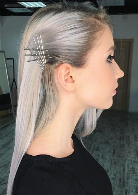 41 exposed bobby pin hairstyles how to use bobby pins