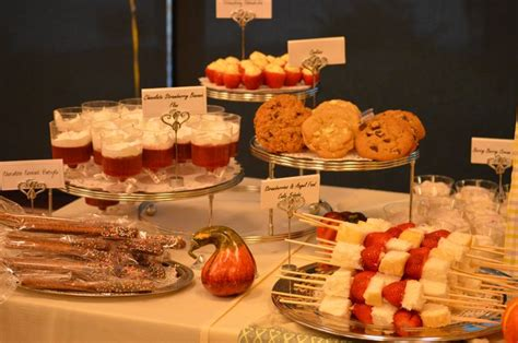 desserts for dinner rehearsal dinner desserts barn wedding ideas