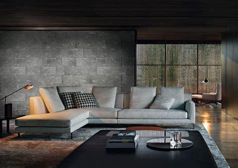 minotti home design products divano angolare allen di minotti arredica