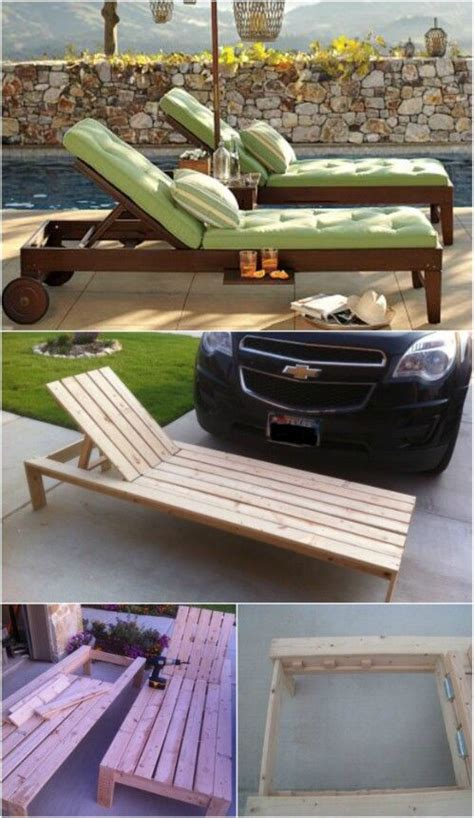 diy outdoor chaise lounge 5 elegant sunbathing loungers you can diy free plans