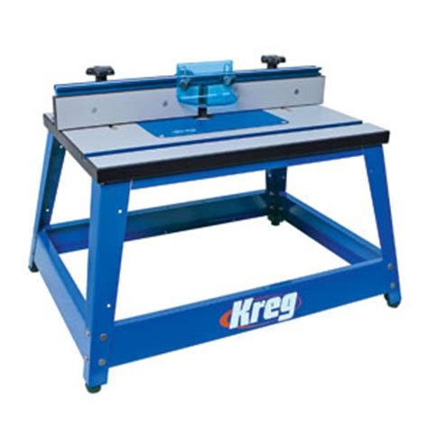kreg bench top router table router tables