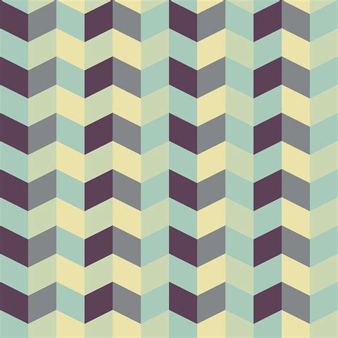 Abstract Retro Pattern | abstract retro geometric pattern digital art by atthamee ni