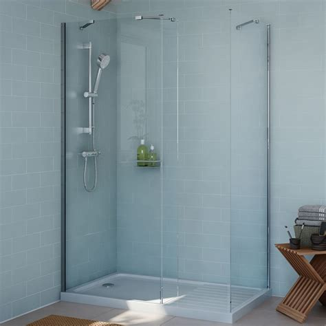 B And Q Walk In Showers by 10 Ideas About Rectangular Shower Enclosures On