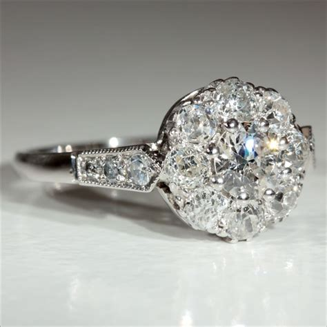 Antique Engagement Rings by Antique Rings Vintage Antique Rings Platinum Engagement Ring