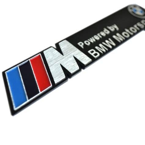 bmw emblem stickers bmw m emblem car badge sticker decal v spec auto