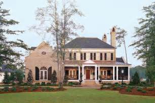 Southern Home Plans With Porches Abberley Plan 683 17 House Plans With Porches