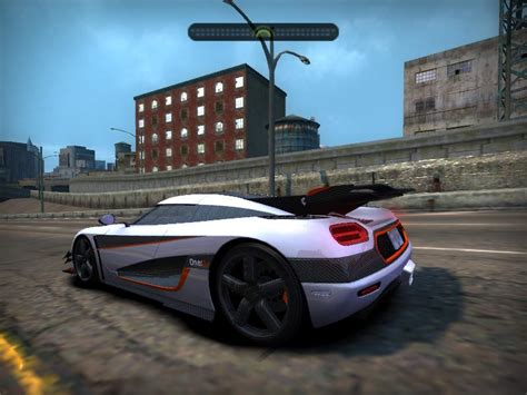 Need For Speed Most Wanted Koenigsegg Need For Speed Most Wanted Koenigsegg One 1 Nfscars