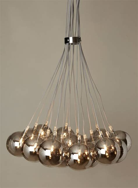 Cluster Ceiling Lights Dar Lighting Aulreia 15 Light Spiral Cluster Ceiling Light With Copper Ceiling Lights