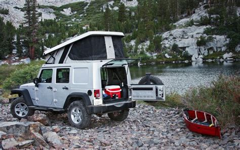 Jeep Rv Conversion Six Ultimate Adventure Vehicles Cers Vehicles And