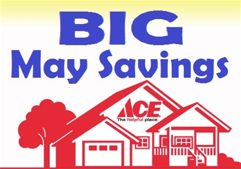 ace hardware qbig ace hardware may sale flyer sdc building center