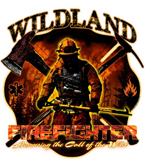 quot call of the quot wildland firefighter decal