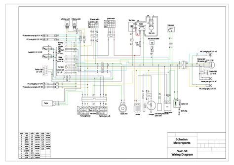 tao tao 50 scooter wiring diagram wiring diagrams repair