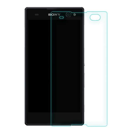 Tempered Glass Gorilla Glass Sony Xperia C3 By Oren Original premium tempered glass protector калено стъклено защитно покритие за дисплея на sony xperia c3
