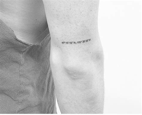 tattoo placement for coordinates 25 best ideas about coordinates tattoo on pinterest
