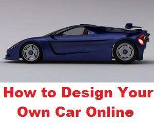 design your own car design your own car
