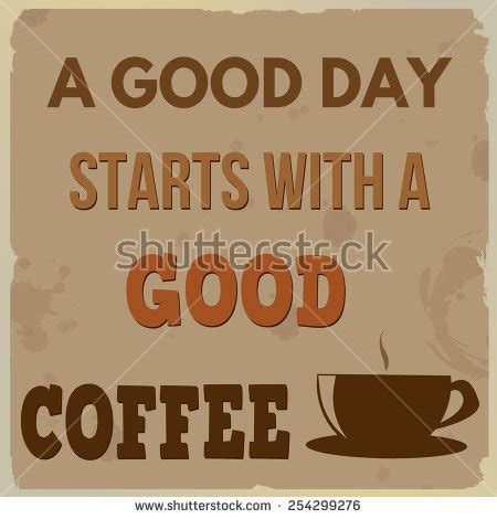 Poster 52 And Coffee poster vintage style coffee cup text stock vector 123682483