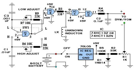 inductor schematic electronic diagrams schematics inverter ups repair circuits
