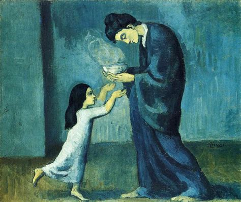 picasso paintings facts the soup 1902 by pablo picasso