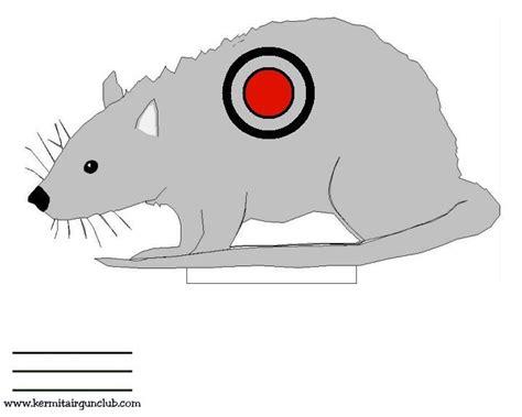 printable rat targets air rifle thread page 136 adventure rider