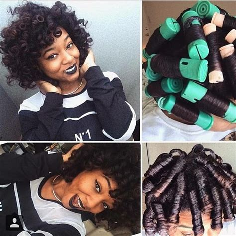 how to set different styles with rollers 30 best images about hair game silk press dominican