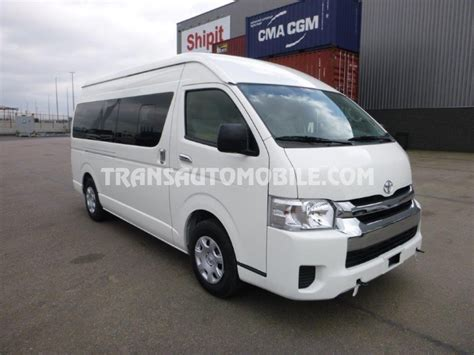 Hiace Toyota Toyota Hiace High Roof Toit Haut 0 To 15 Seats Brand