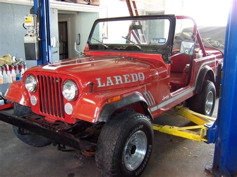 85 jeep cj7 rudy s classic jeeps llc 85 jeep cj7 laredo from