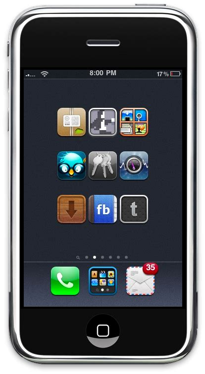 app layout cydia create custom springboard layouts with iconoclasm macstories